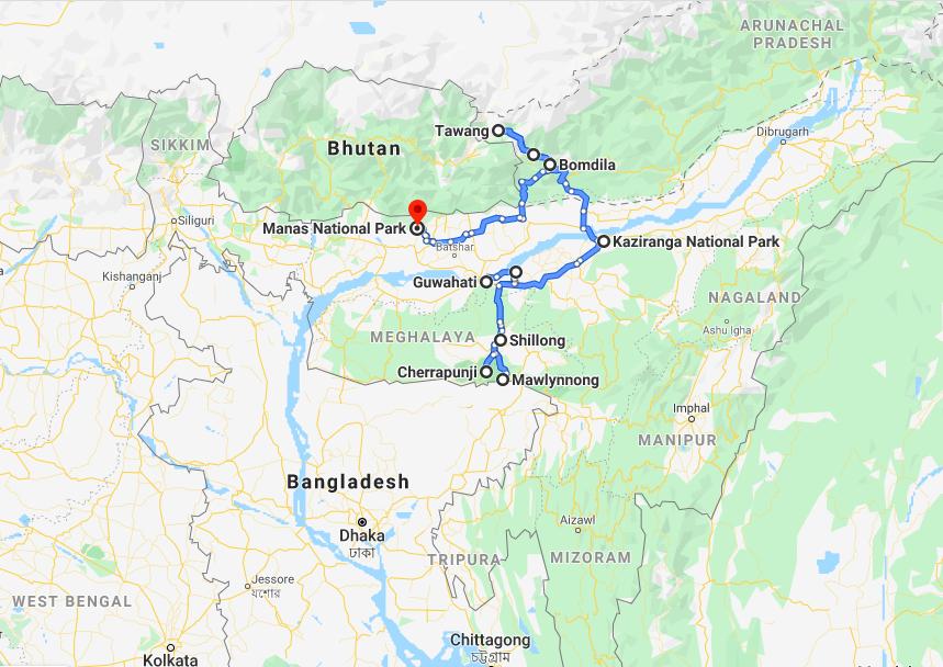Noord Oost India 3