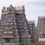 Srirangam temple in Tiruchirappalli
