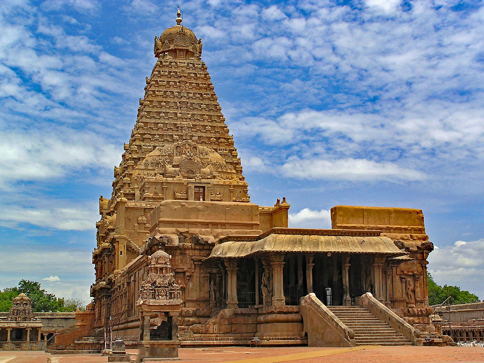 Tanjore tempel