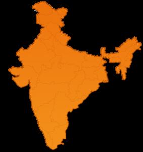 India Landkaart
