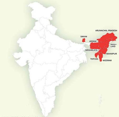 Noord Oost India